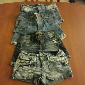 Pants - size 3 shorts lot.